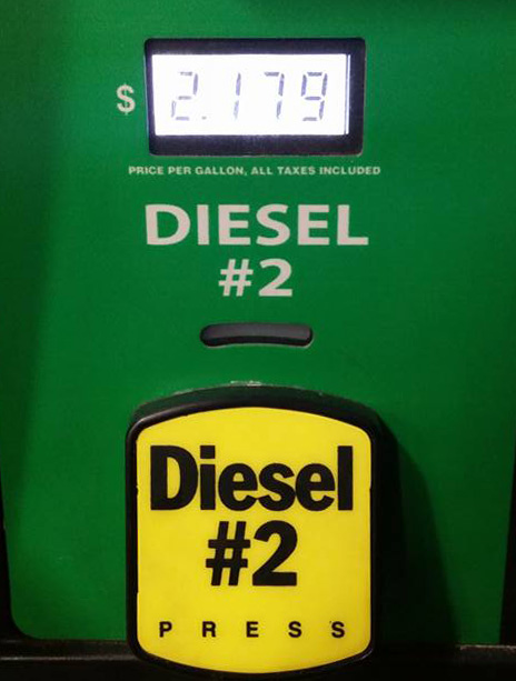 diesel lowest prices