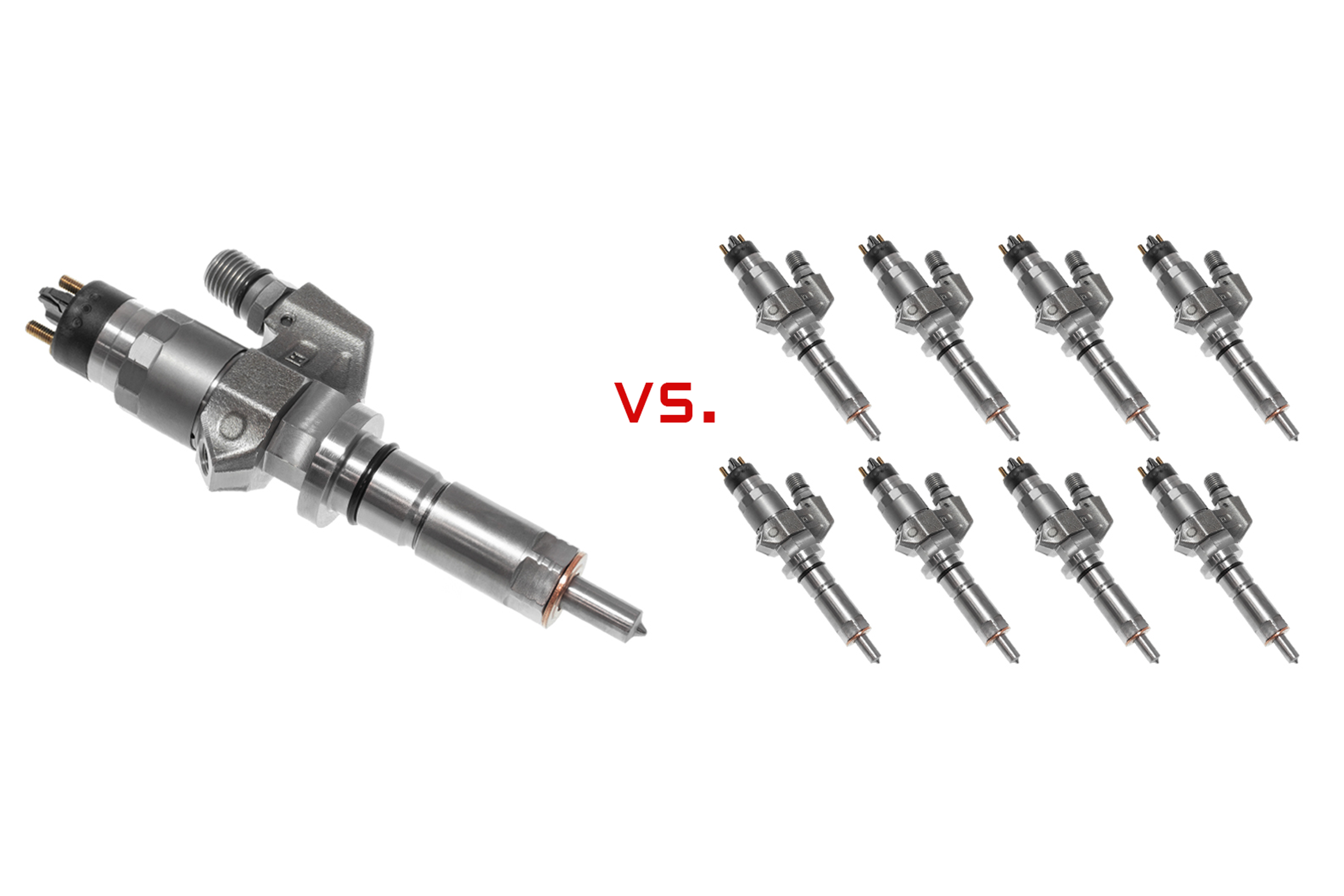 Buying Single Diesel Injectors, or a Full Set?